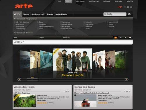 Arte offre ses programmes en replay pendant 7 jours après leur diffusion