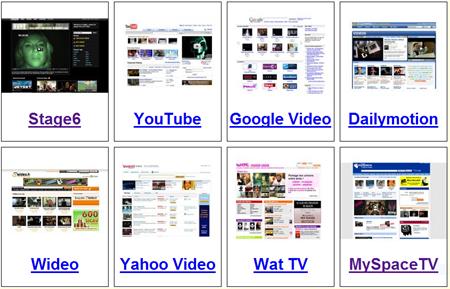 Comparatif de sites de partage de videos