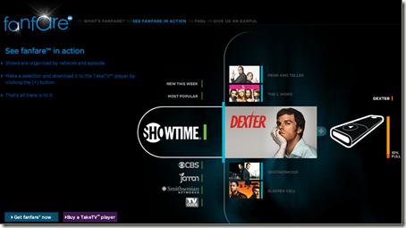 Sansa TakeTv : clé USB, télécommande et lecteur video pour TV