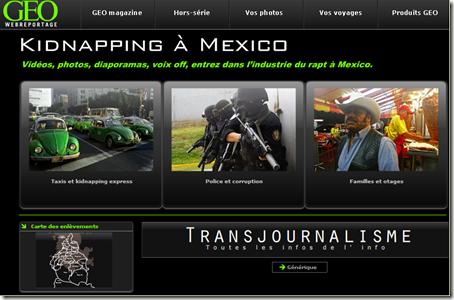 geo-web-reportage