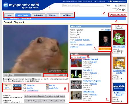 myspace-interface