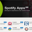 Spotify cède à la mode des apps