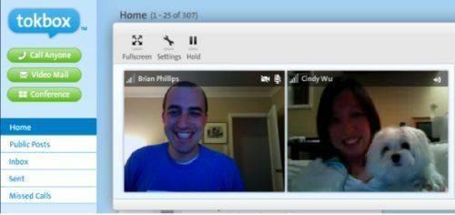 Tokbox : video chat intégré a votre blog
